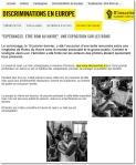 Recopie d'écran de l'intranet de Amnesty France, cliquer pour agrandir